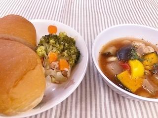 夏野菜シチュー2018.7